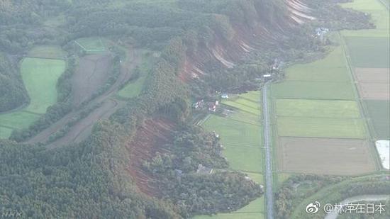 视频:日本6.9级地震致山体滑坡 多栋房屋坍塌
