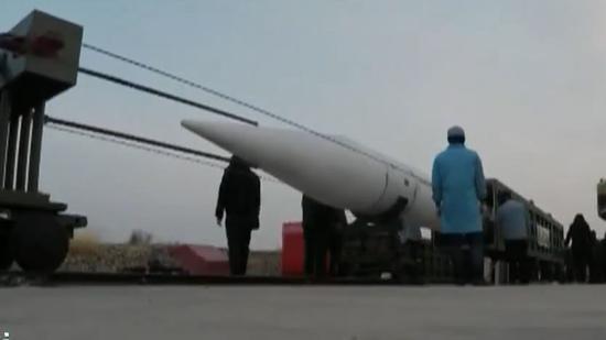 """资料图:中国高超音速飞行器""""星空二号""""测试画面"""