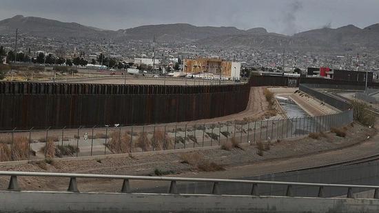 ▲美墨邊境牆資料圖 圖片來源:視覺中國