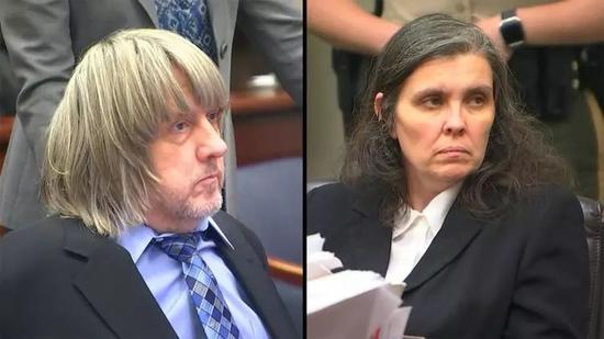 Viafoxcarolina.com;David Turpin(左)和他的妻子Louise