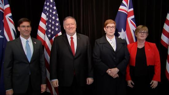 蓬佩奥拉拢澳大利亚对付中国 却遭冷淡回应|蓬佩奥