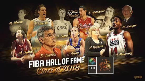 中国篮球名宿牟作云入围国际篮联名人堂 中国首位
