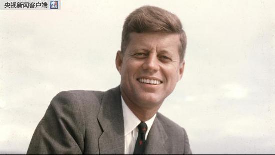 △美国前总统—约翰·肯尼迪