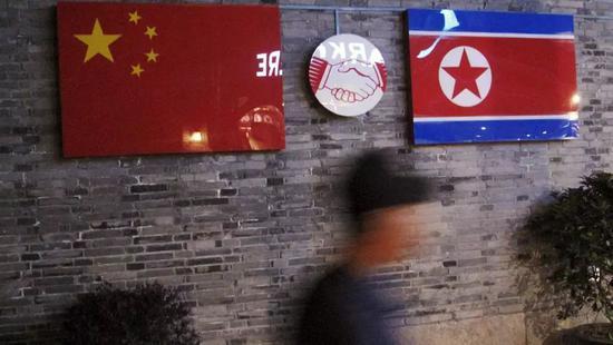 ▲开在中国的朝鲜餐厅(路透社)