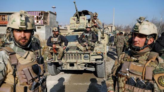 阿富汗部队 图:路透社