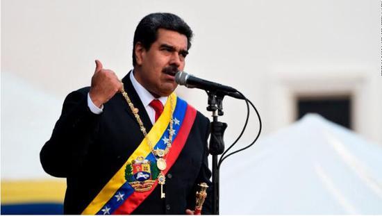 (委内瑞拉总统马杜罗图源:CNN)