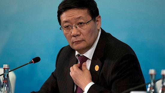 图为全国社保基金理事会理事长楼继伟。图片来源:视觉中国