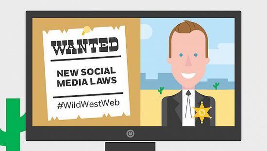 新社交媒体法宣传海报。来源:nspcc