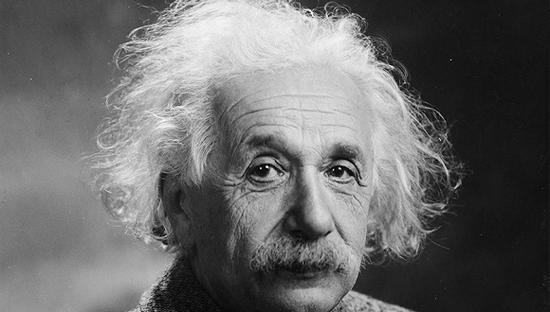 物理学家爱因斯坦。图片来源:WikiCommons