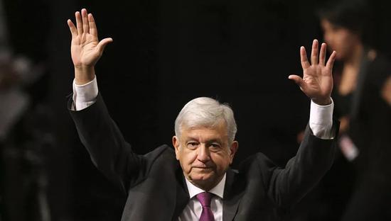 墨西哥当选总统奥夫拉多尔