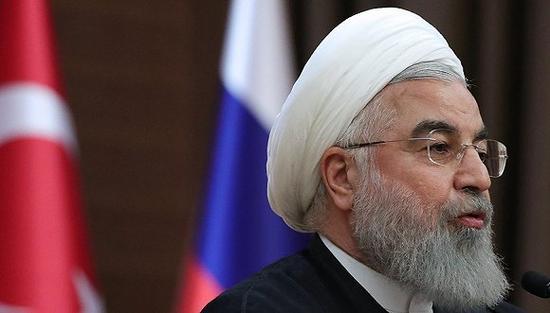伊朗总统鲁哈尼。图片来源:视觉中国