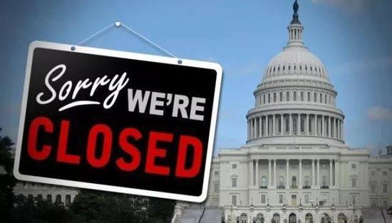 图:2013年,两党针对奥巴马医改方案发生分歧,导致国会迟迟无法通过政府预算案,美国政府因此关停长达16天