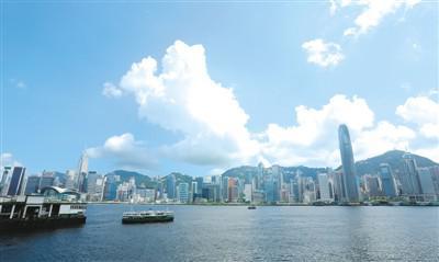 图为香港维多利亚湾。新华社记者 李 鹏摄