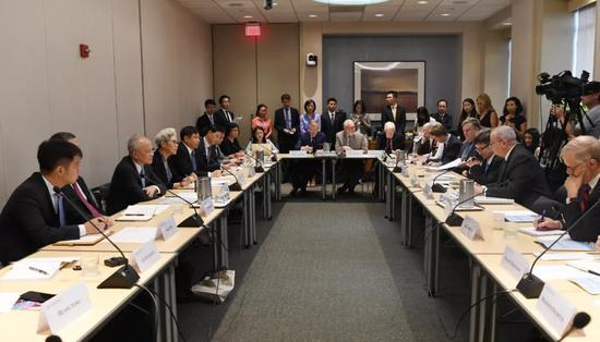 ▲8月30日,中美智库专家在美国首都华盛顿举行对话会。(刘杰 摄)