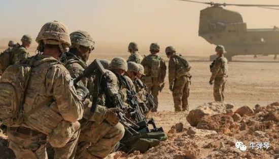 美国正紧急向中东增兵