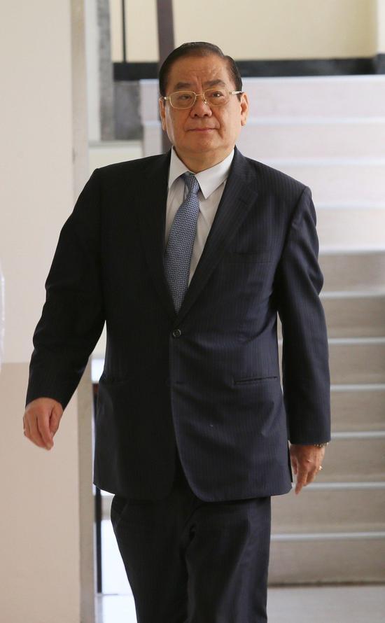 国民党副主席曾永权(图片来源:《联合报》)