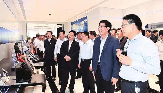 4月23日,吉林省党政代表团在宁波市进行学习考察。来源:吉林日报