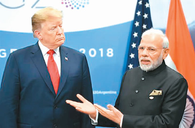 美国拟撤印度零关税待遇 会上演贸易大战吗?