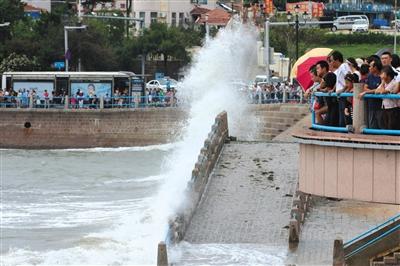 利奇马或今日登陆山东 华东华北部分地区有大暴雨|中央气象台|强降雨