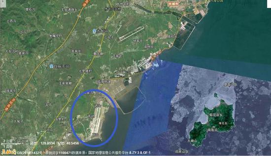 辽宁葫芦岛兴城的我训练基地