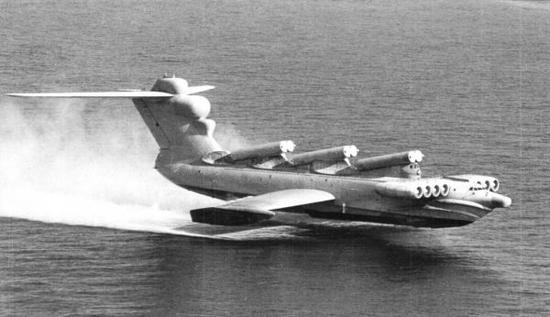"""资料图片:MD-160""""鹞""""地效飞行器,搭载有多枚""""日炙""""反舰导弹。(图片来源于网络)"""