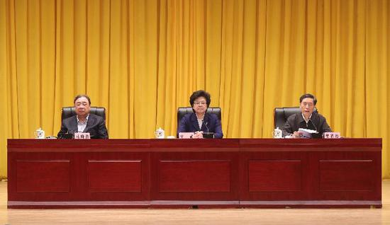 国家卫生健康委员会召开领导干部会议