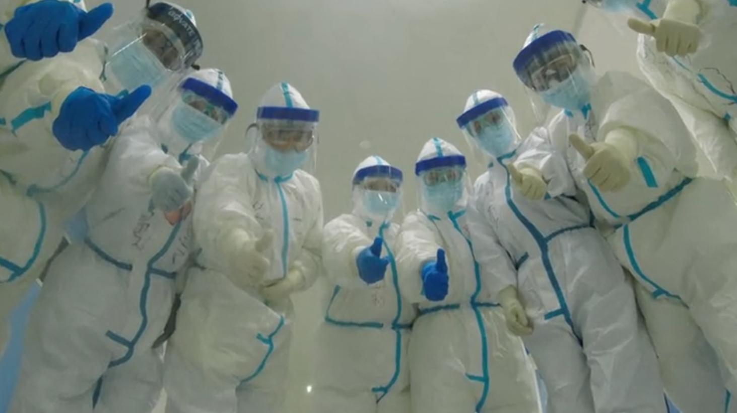 """视频-中国留学生心系抗疫:""""呼吸心跳与你一同"""""""