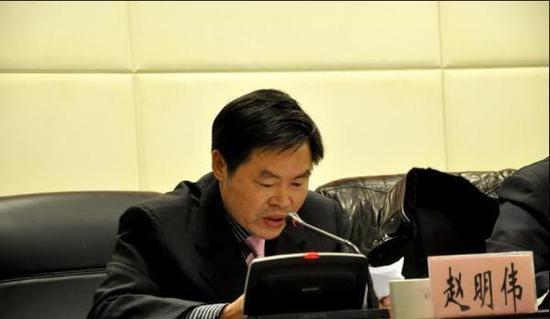 安徽蚌埠纪委原副书记赵明伟严重