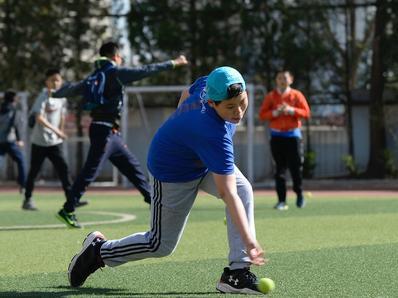 中网球童选拔北京育新小学站