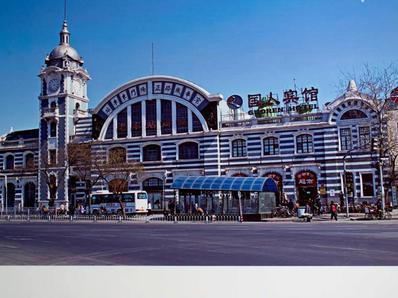 50年代北京站70年代复兴门 千张老照片带你回到儿时北京