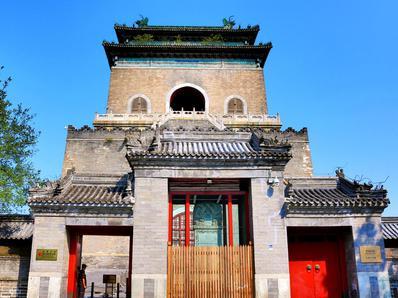 """具有""""钟王""""之称的北京钟楼"""