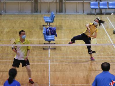 北京部分体育场所恢复开放