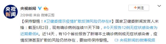杏悦注册:委提示疫情扩散反弹风险仍存在杏悦注册图片