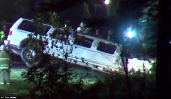 ▲出事车辆 图据CBS6新闻
