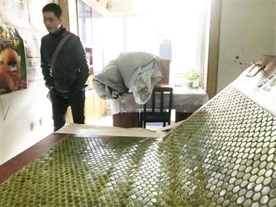 黄婆婆花2.2万购买的玉石床垫