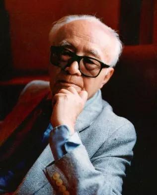 黄仁宇晚年在美国家中