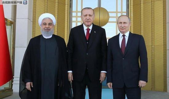 俄土伊领导人举行第五次三方会晤 聚焦叙利亚问题