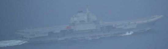 """""""辽宁""""舰赴西太 台军给自己加戏称""""全程掌握"""