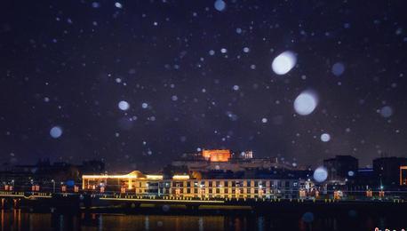 瑞雪兆丰年!拉萨迎藏历新年首场降雪