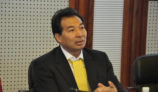 中国驻印度大使罗照辉。