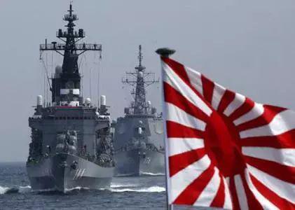 资料图:日本海上自卫队舰艇编队