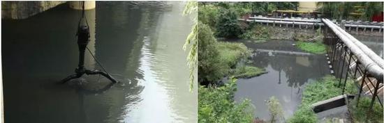 企业设置潜污泵,废水直排严重影响金水河水质
