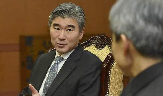 朝鮮新任駐聯合國代表金成(音)。