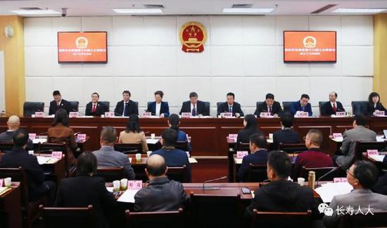 戴明任重庆市长寿区副区长、代理区长图片