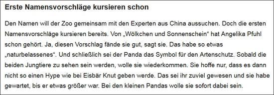 《柏林朝邮报》报导截图