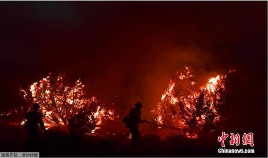 当地时间9月19日,持续数周的山火给美国尤其是西海岸各州部分民众的生活造成巨大影响。在这几个州中,情况最严重的是加利福尼亚。今年的山火已烧毁加州330万英亩土地,打破该州历史纪录。有17000名消防员正在加州参与灭火。目前美国10个州的87场大火燃烧,即将发生的火灾可能更加严重。