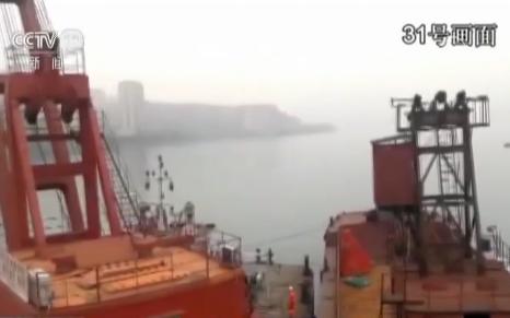 视频:潜水员对重庆坠江公交车安装吊索 为整体起吊