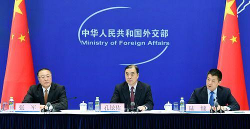 2018年7月13日,外交部举行中外媒体吹风会。(外交部网站)