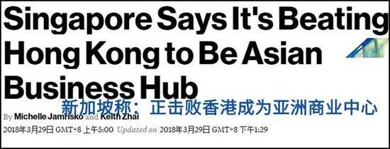 彭博社报道截图