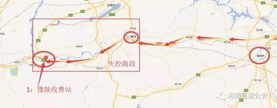 3.14定速巡航事件路线示意图